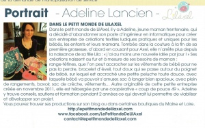 article lilaxel - le posson mai 2013