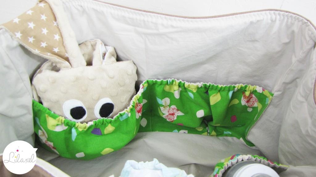 intérieur du sac à langer Lilaxel 3
