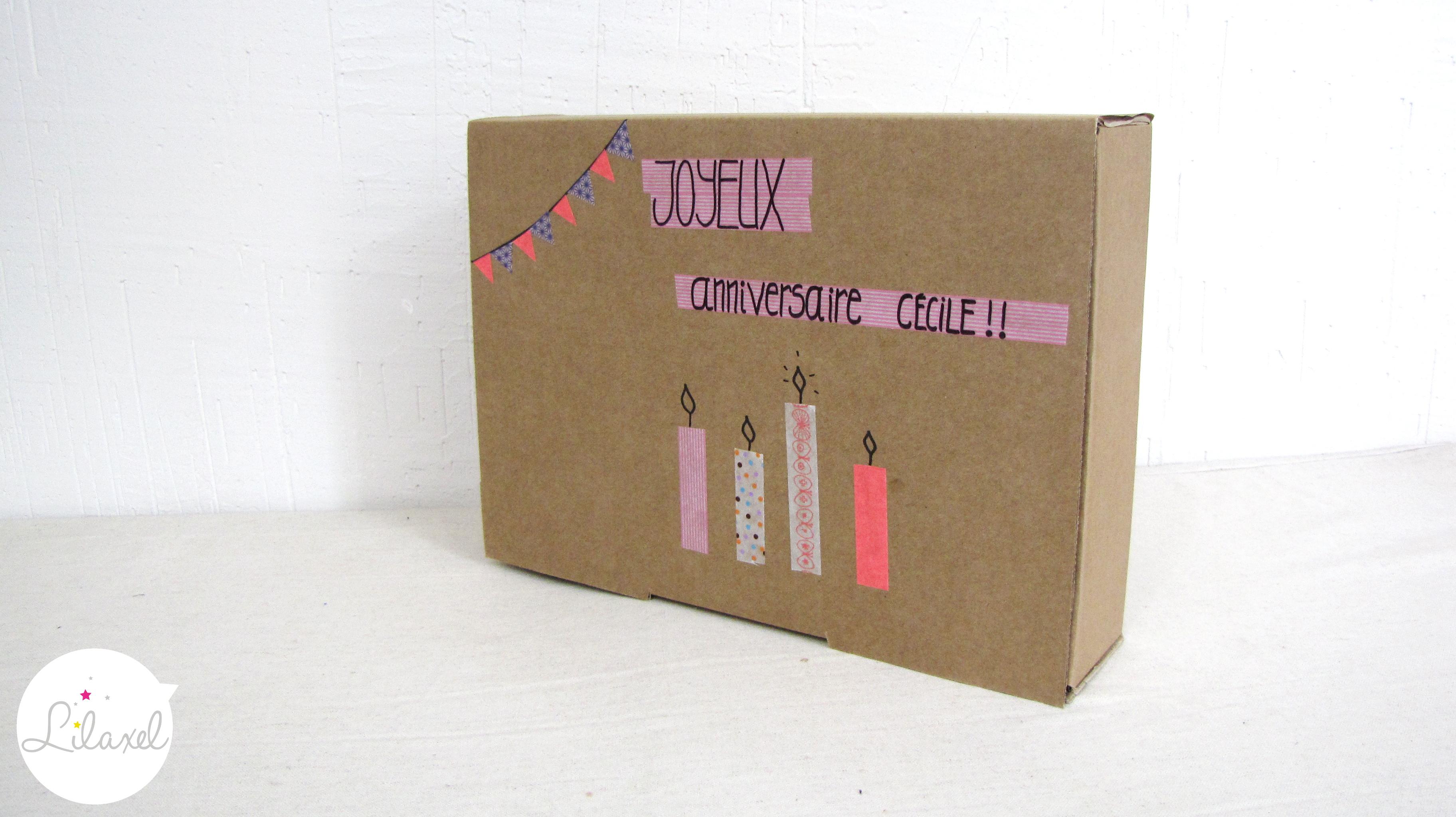 cadeau gourmand pour un anniversaire lilaxel. Black Bedroom Furniture Sets. Home Design Ideas