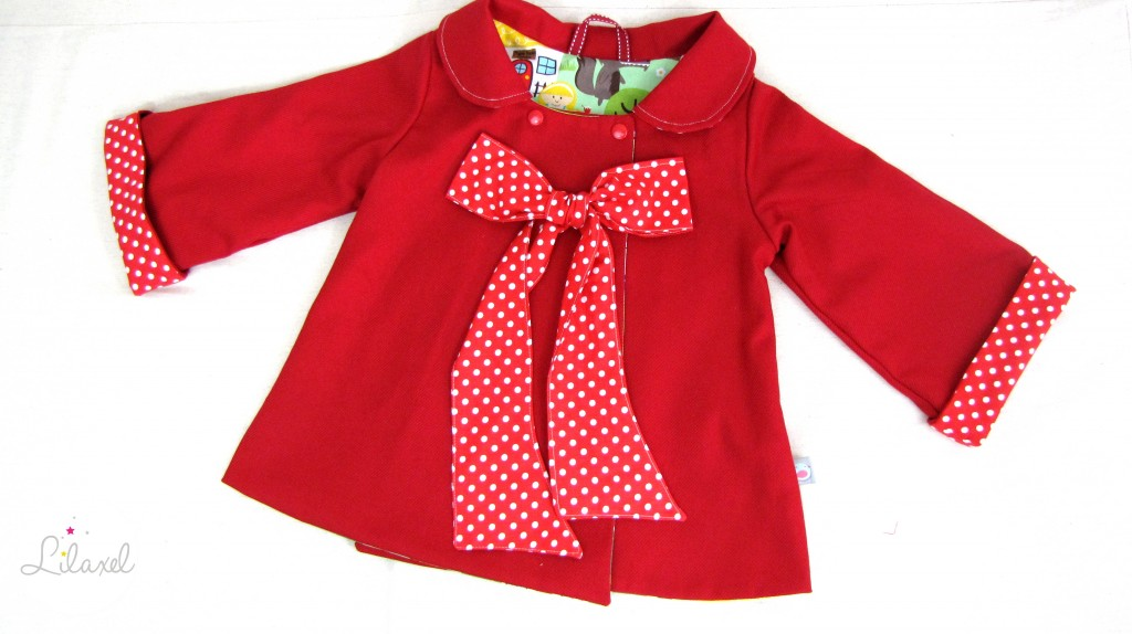 manteau petit chaperon rouge par lilaxel