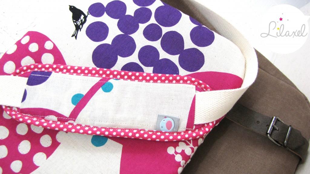 protège-épaule du sac à langer