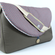 sac à langer taupe et billy - 1