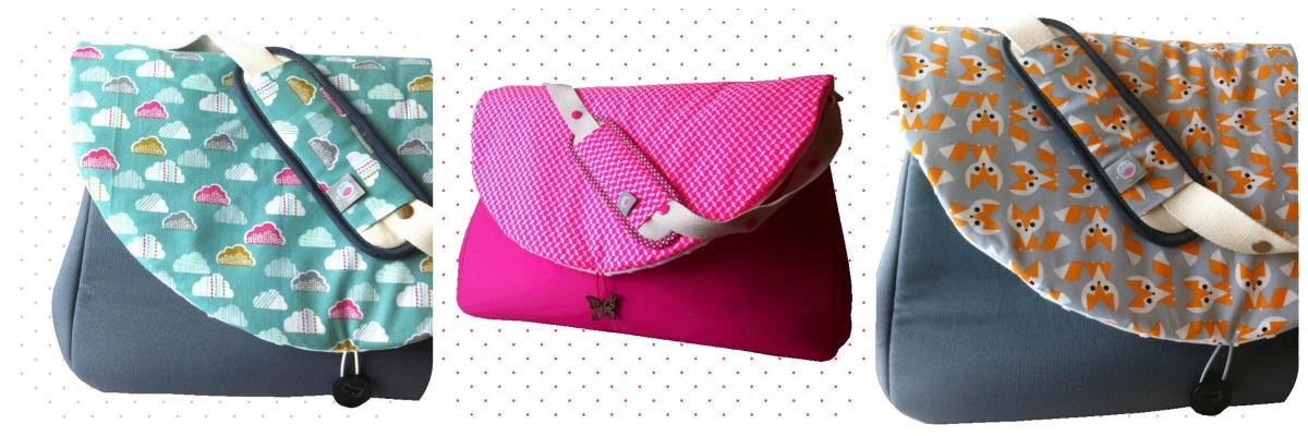nouveaux sacs langer et carnet de commandes lilaxel. Black Bedroom Furniture Sets. Home Design Ideas
