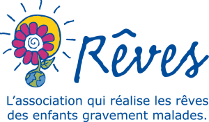 Logo Rêves avec slogan