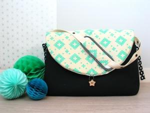 Un sac à langer graphique