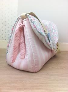 sac à langer lilaxel rose et liberty felicitee dragée - 03
