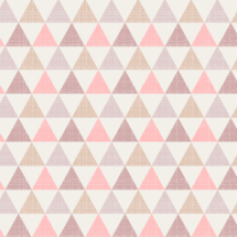 textured triangles pink - kimsa