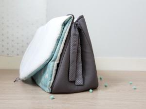 sac à langer lilaxel x la p'tite manufacture - incas