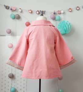 manteau rose tydressing x lilaxel