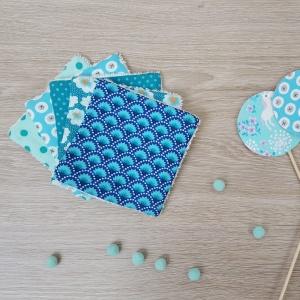 tydressing x lilaxel - lingettes lavables bleu