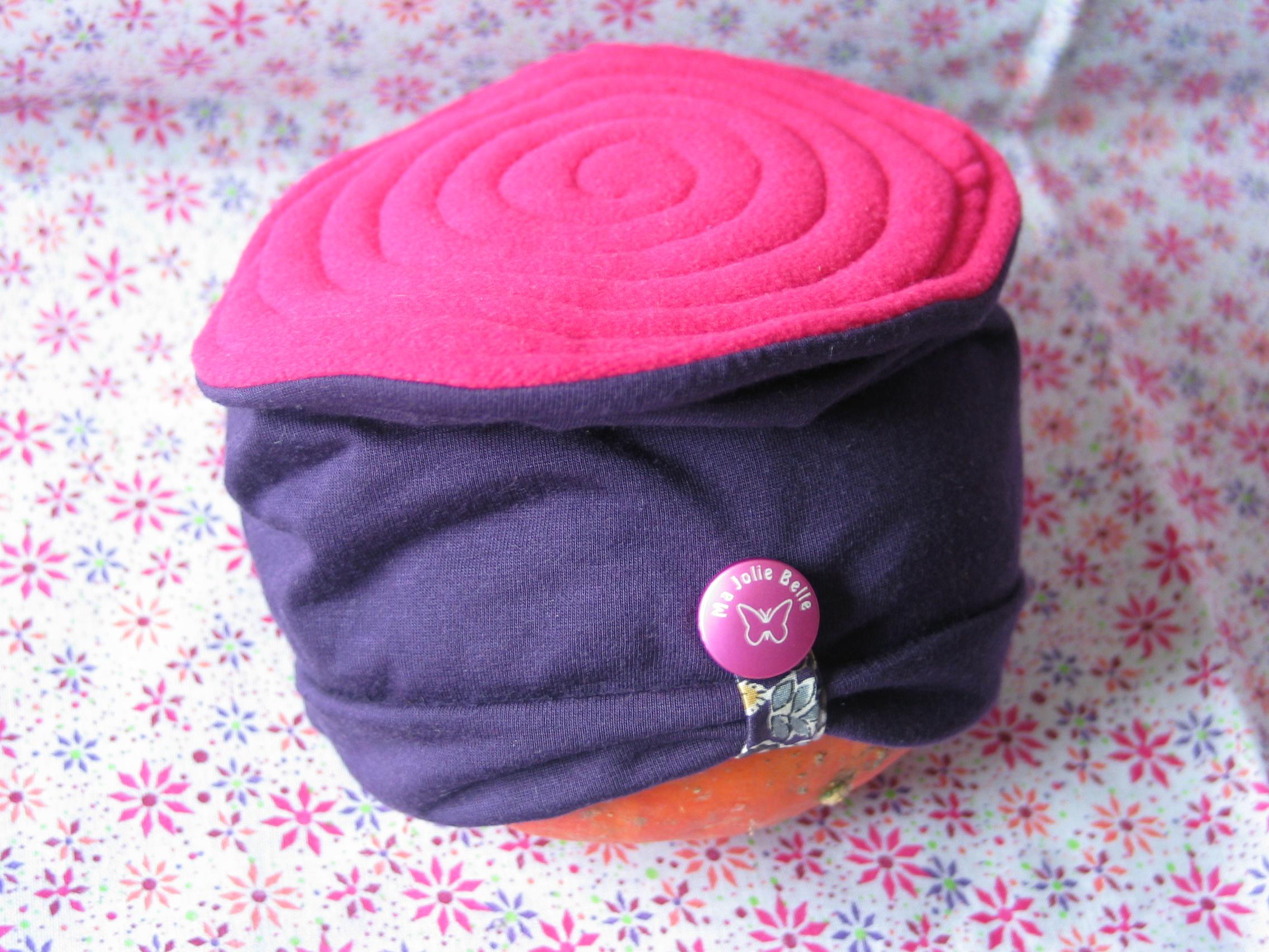Un bonnet pour petite demoiselle