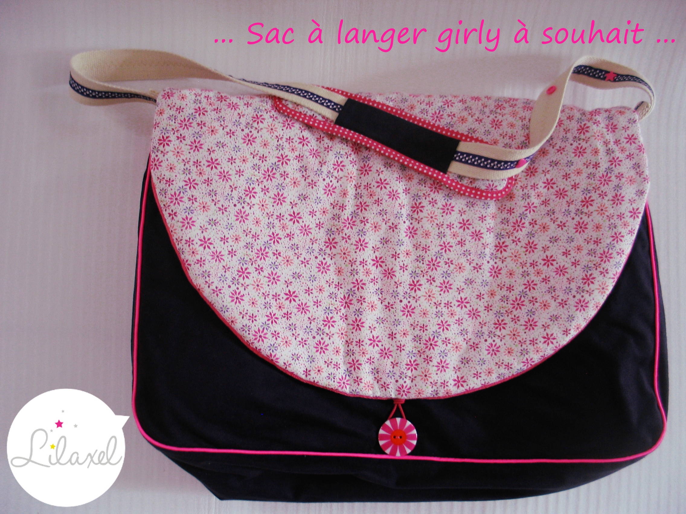 Sac à langer girly