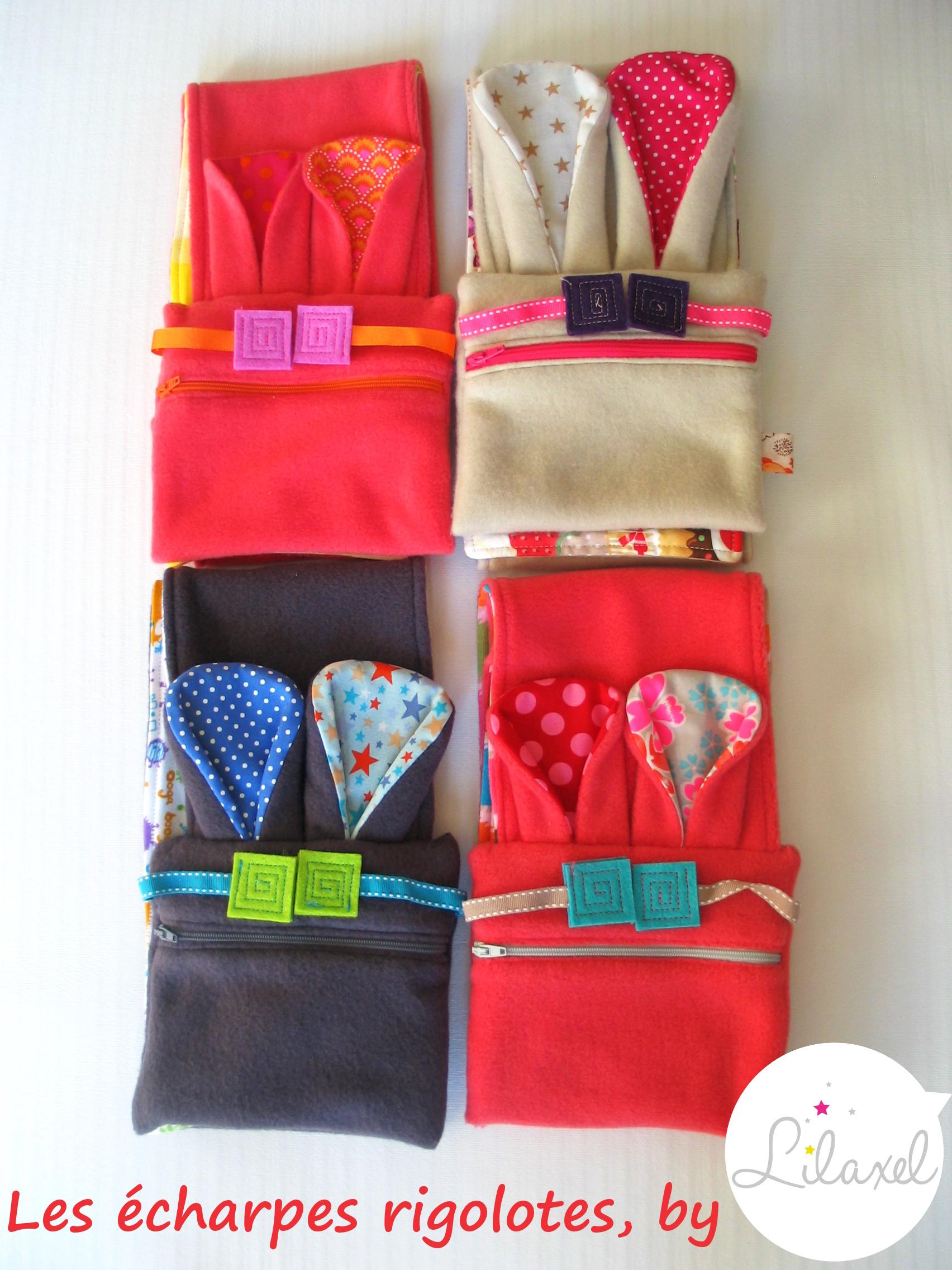 Des écharpes rigolotes