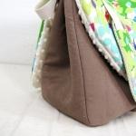 sac à langer sable et papillons - lilaxel