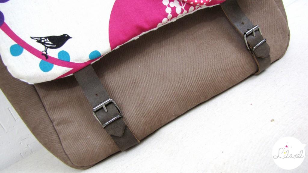 boucles sur sac à langer lilaxel