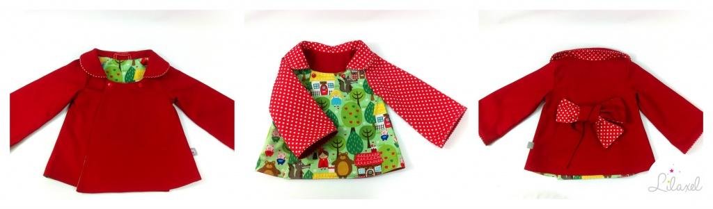 manteau petit chaperon rouge lilaxel