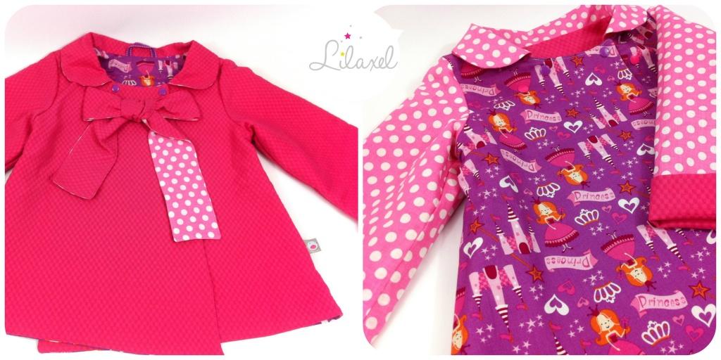 manteau rose et princesses by Lilaxel