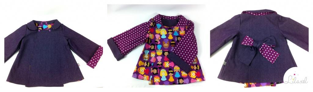 manteau violet lilaxel