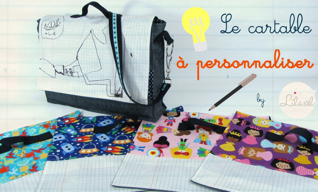 le cartable à personnaliser_by lilaxel