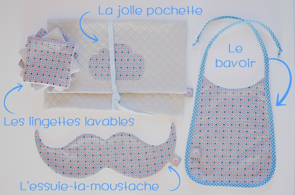 Le kit anti-bavouilles {Nouvelle collection}