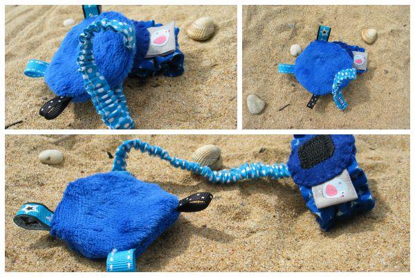 bracelet d'éveil bleu - lilaxel