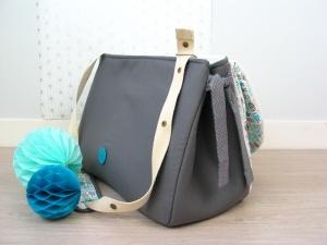 sac à langer lilaxel - base gris et chouettes - 5