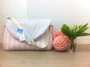 sac à langer lilaxel rose et liberty felicitee dragée - 15