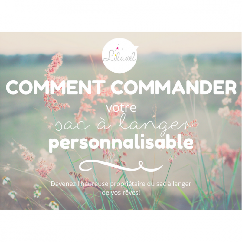 sac personnalisable - www.lepetitmondedelilaxel.com