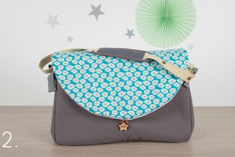 sac à langer - gris et osami - www.lepetitmondedelilaxel.com