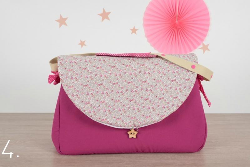 sac à langer - rose et eloise - www.lepetitmondedelilaxel.com