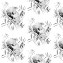 sleepy koala - thisleandfox