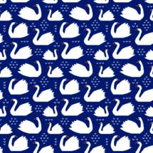 swans navy - mirabelleprint