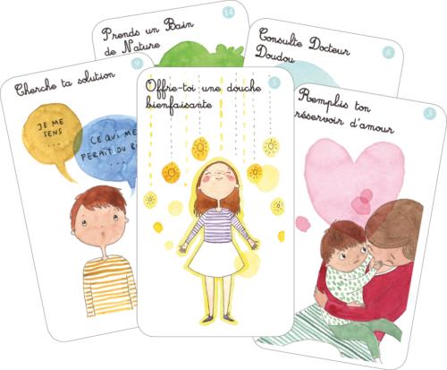 cartes de retour au calme