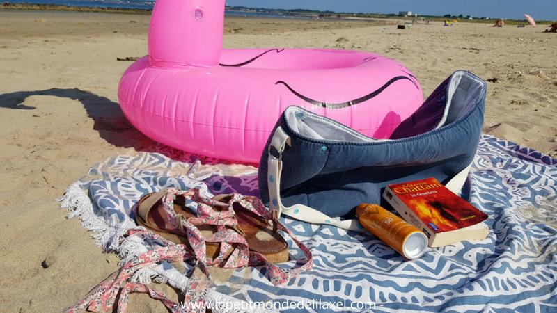 Profiter de la plage - lilaxel