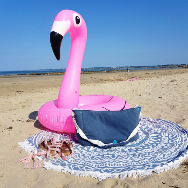 sac de plage lilaxel