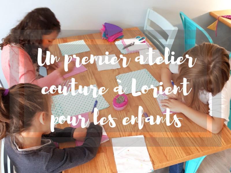 Un premier atelier couture pour les enfants à Lorient
