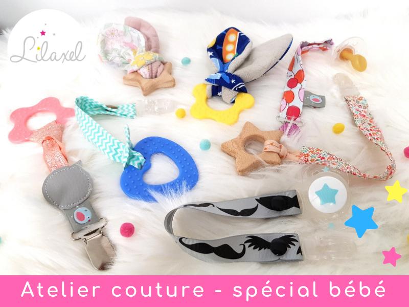 Atelier couture lorient spécial bébé lilaxel