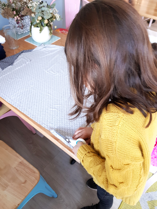 atelier couture enfant - lilaxel - snood