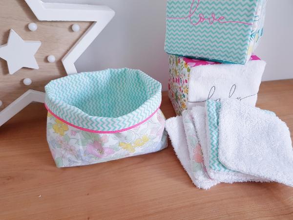 Atelier couture pour adultes à Lorient - lingettes lavables