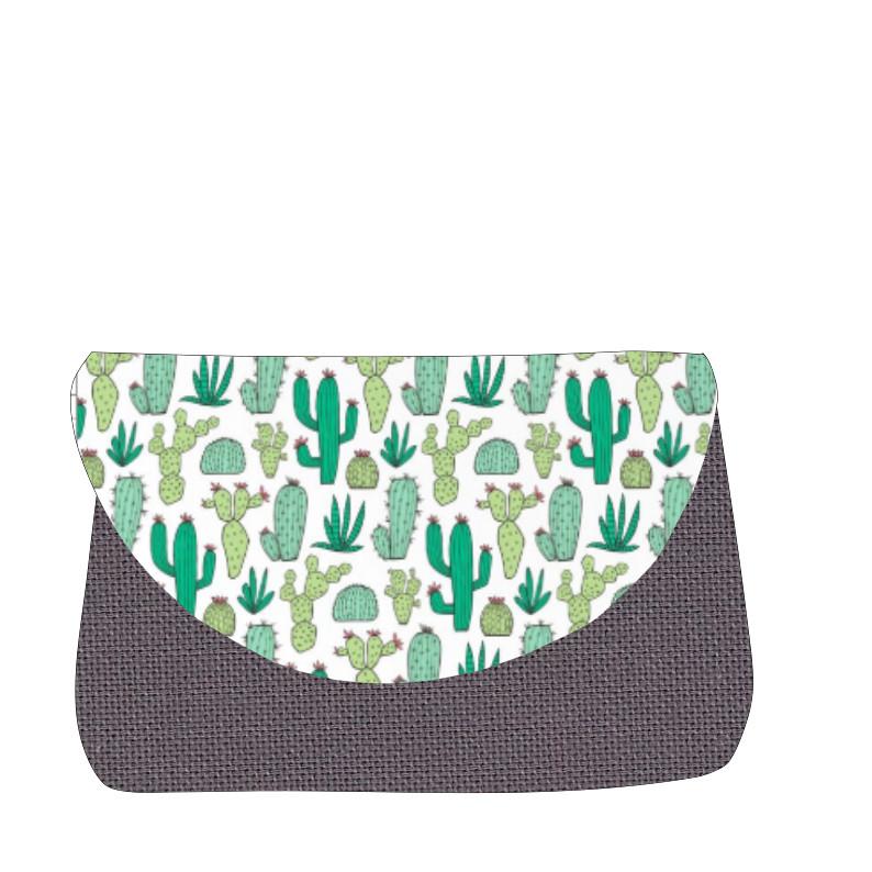 sac à langer lilaxel gris et cactus