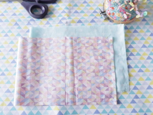 tuto couture lilaxel - débutant - la corbeille - couture latérale