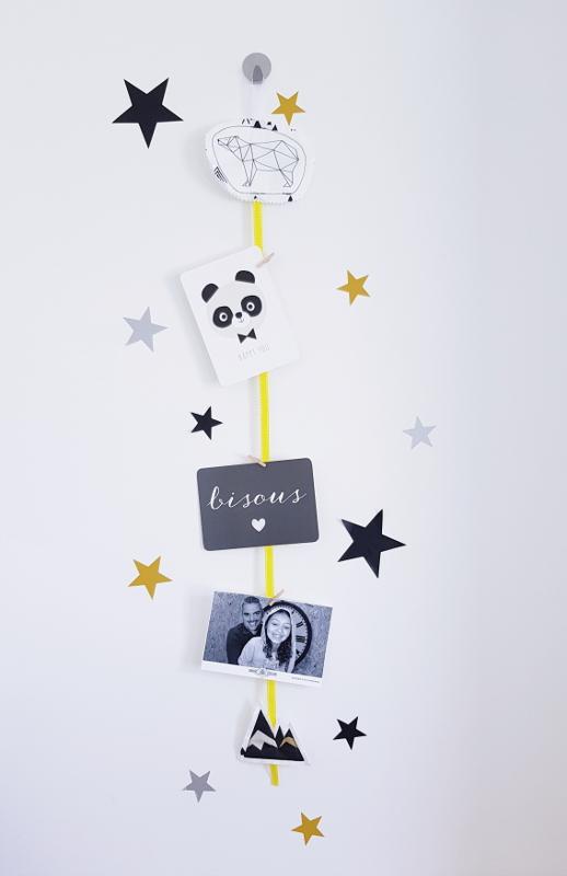 atelier couture enfant - porte-photos - lilaxel