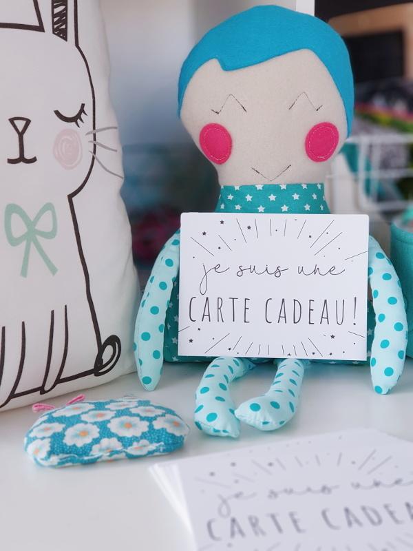 carte cadeau lilaxel - atelier couture - sac à langer