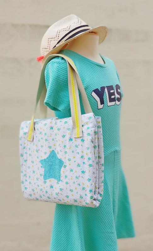 atelier couture enfant lorient - sac et serviette de plage - lilaxel