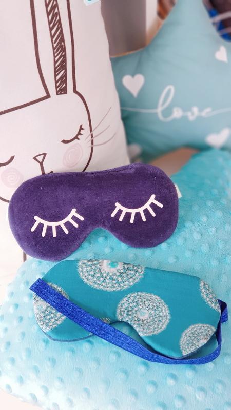 atelier couture enfant à lorient - masque de nuit qui brille - lilaxel