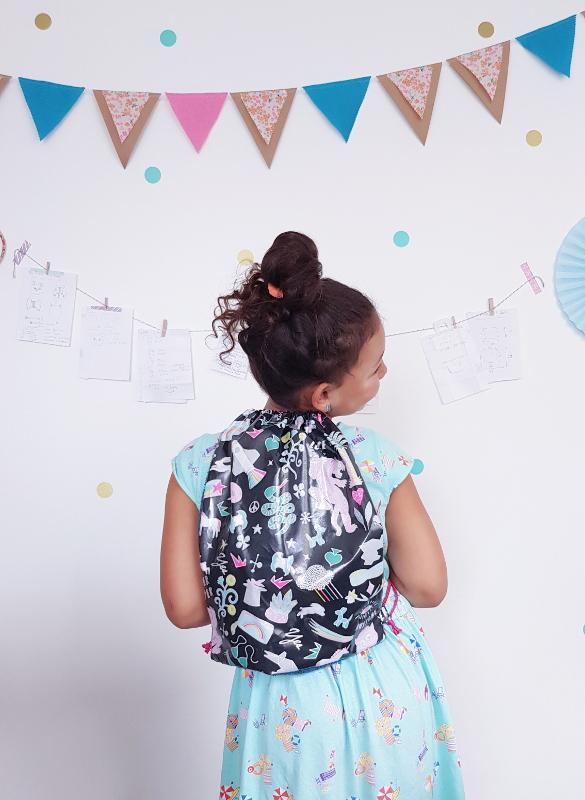 atelier couture enfant lorient - lilaxel - sac de piscine