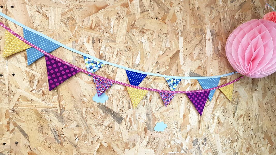 atelier couture lilaxel lorient - guirlande de fanions