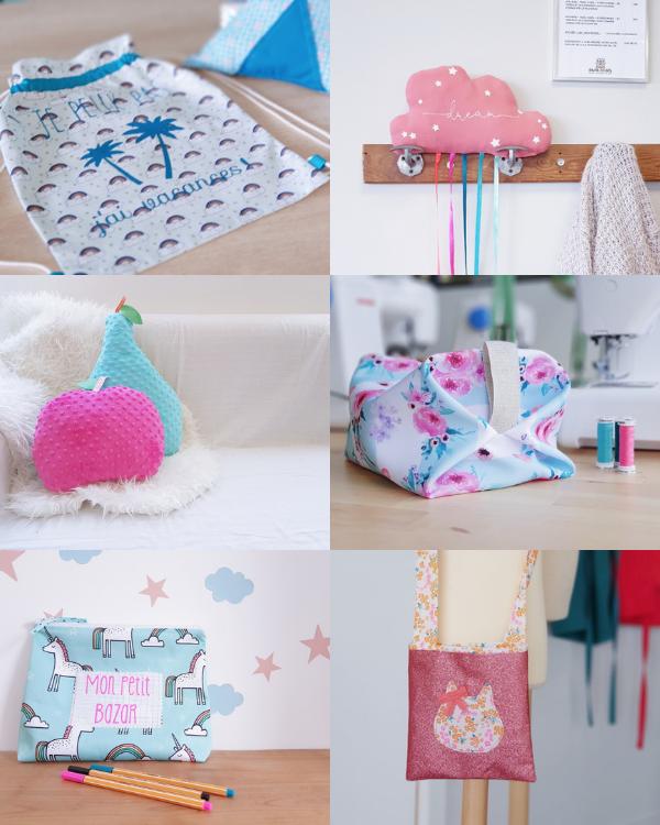 Ateliers couture enfant lorient lilaxel - 1ère semaine des vacances