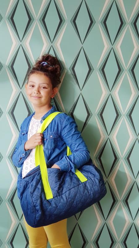 atelier couture enfant chez papa ours à caudan lorient - le sac polochon lilaxel